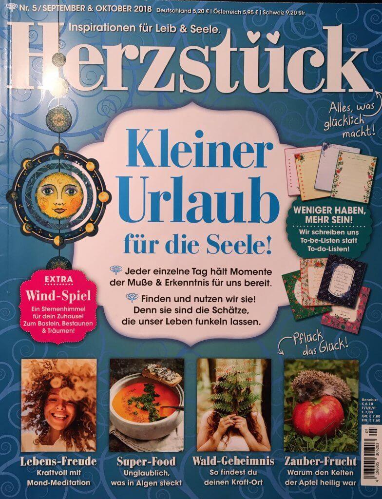 Cover Zeitschrift Herzstück