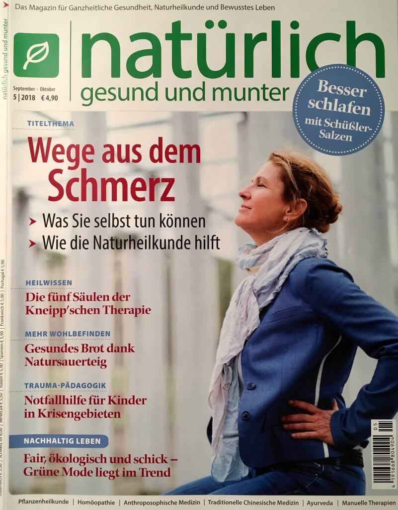 Cover Zeitschrift natürlich schön