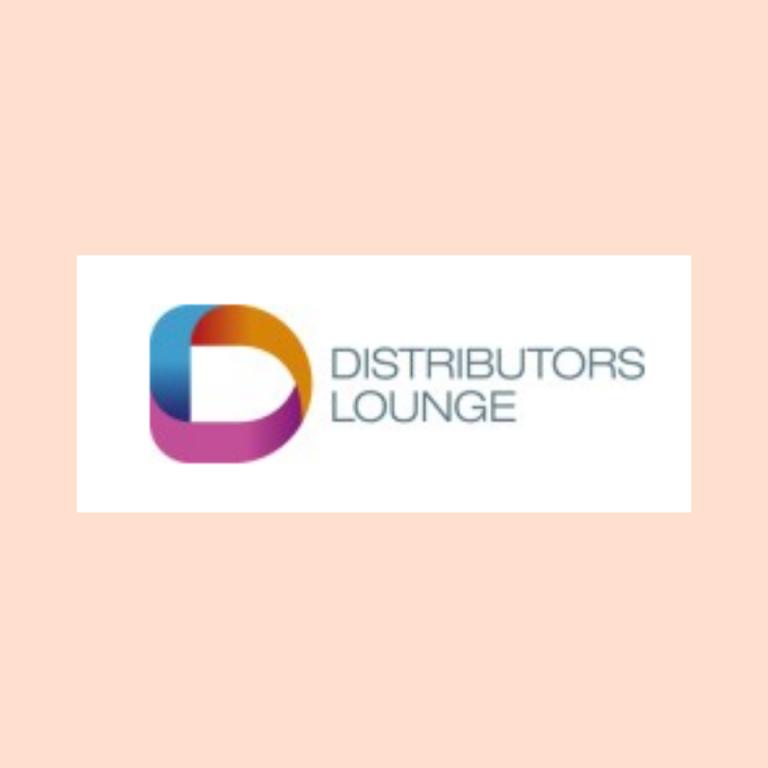 Logo Distributors Lounge Cosmetic Business