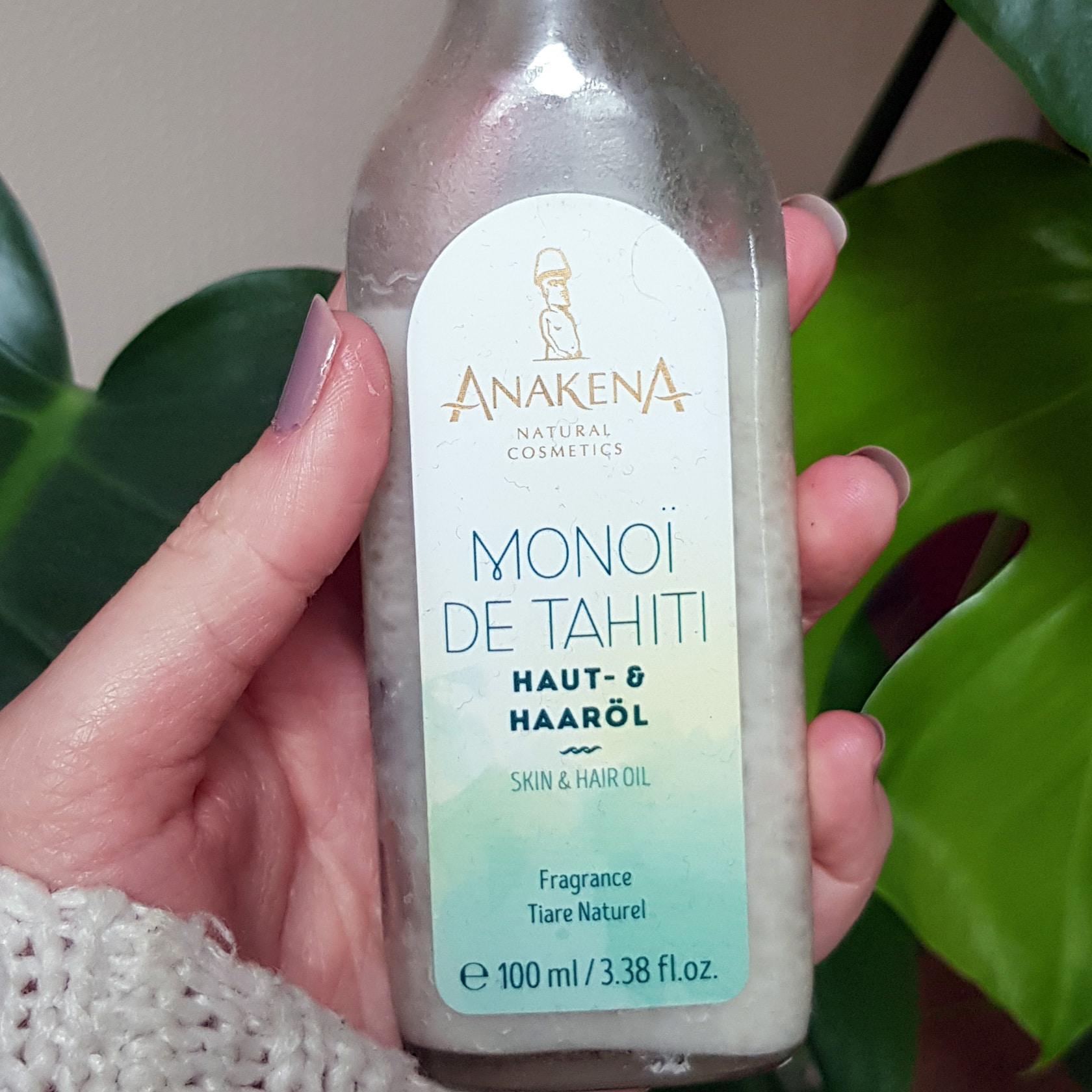 Review über Monoï de Tahiti Anakena