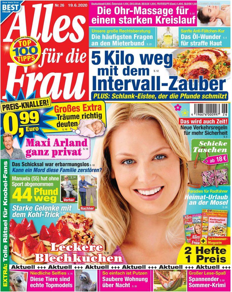 Alles für die Frau_Heft 26_Cover