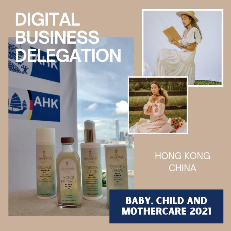 Digitale Geschäftsanbahnung Hong Kong China