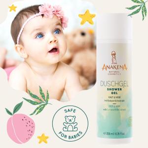 Duschgel Anakena sicher für Babies